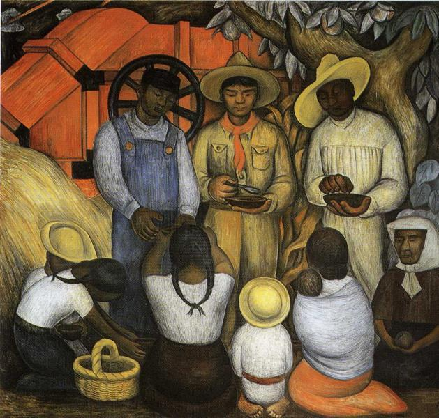 Triumph of the Revolution, 1926 - Diego Rivera