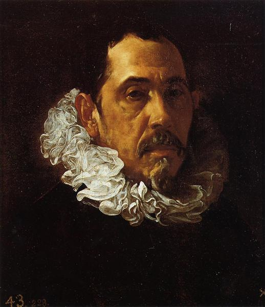 Portrait of a Man with a Goatee - Diego Velazquez