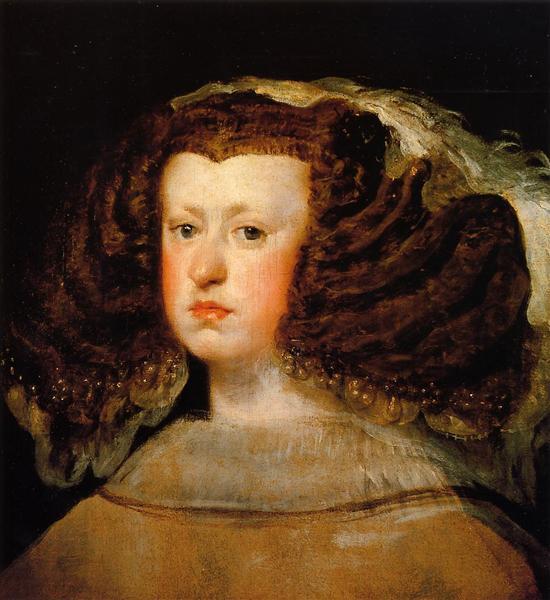Queen Mariana, c.1655 - 1656 - Diego Velázquez