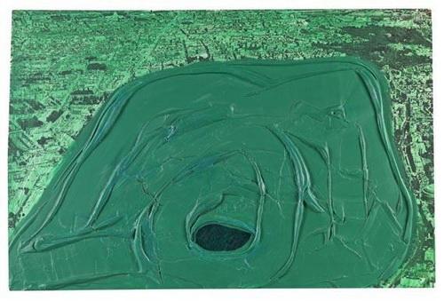 Postcard (Hyde Park), 1969 - Dieter Roth