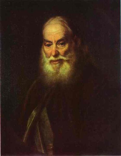 Portrait of G. K. Levitzky, Artist s Father, 1779 - Dmitry Levitzky