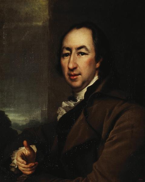 Portrait of Nikolai Novikov, c.1795 - Dmitry Levitzky