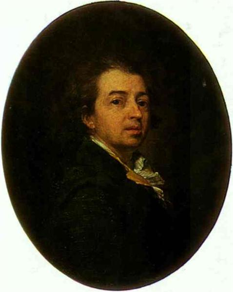 Self-Portrait, 1783 - Dmitri Levitski
