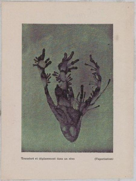 Transfer & Placement Into a Dream (Vaporization), 1945 - Dolfi Trost