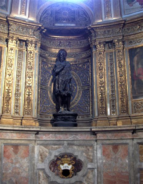 Statue of St. John the Baptist in the Duomo di Siena, 1457 - Donatello