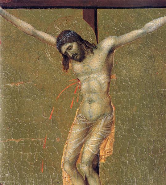 Crucifixion(Fragment), 1308 - 1311 - Duccio