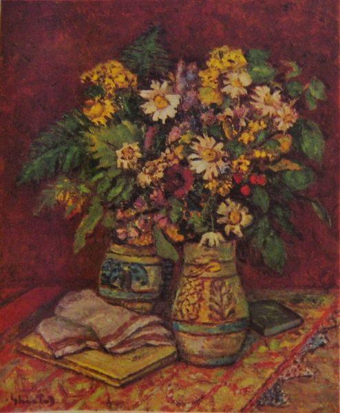 Mountain Flowers, 1956 - Dumitru Ghiatza