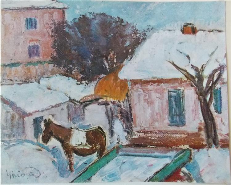Winter Landscape, 1942 - Dumitru Ghiatza