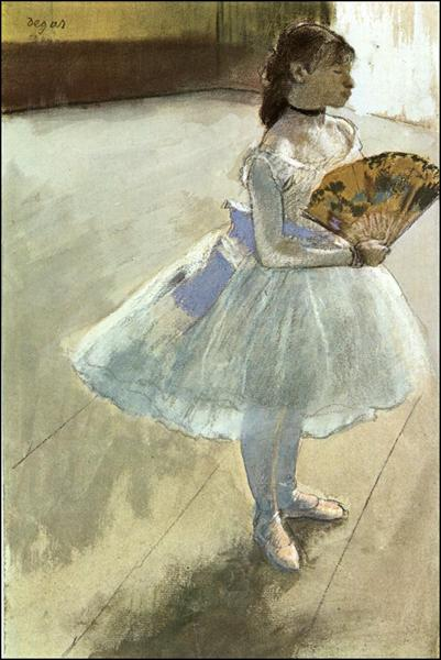 Dancer with a Fan, 1879 - Edgar Degas