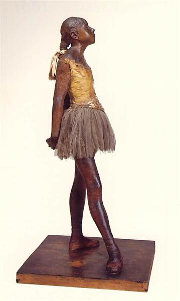 Little Dancer, Fourteen Year Old - Edgar Degas