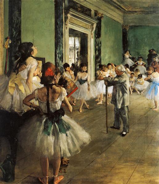 The Ballet Class, 1871 - 1874 - Edgar Degas