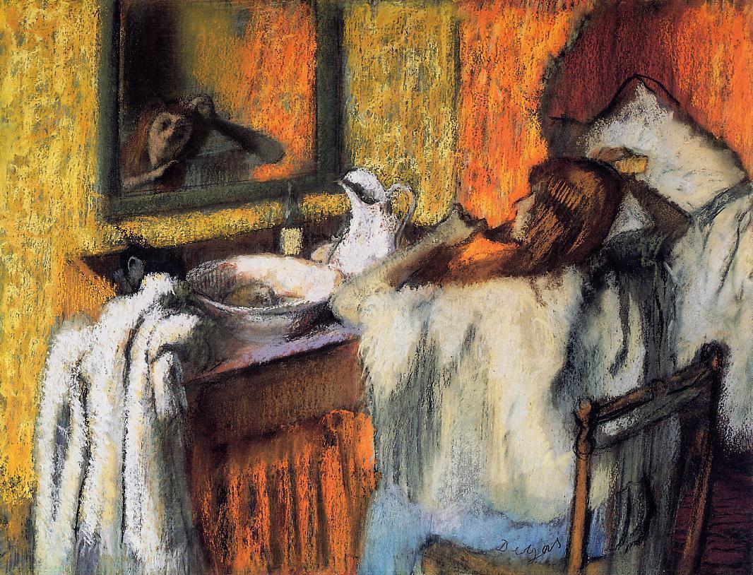 Famous Painting Bath