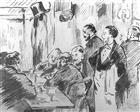 A café, interiour - Edouard Manet