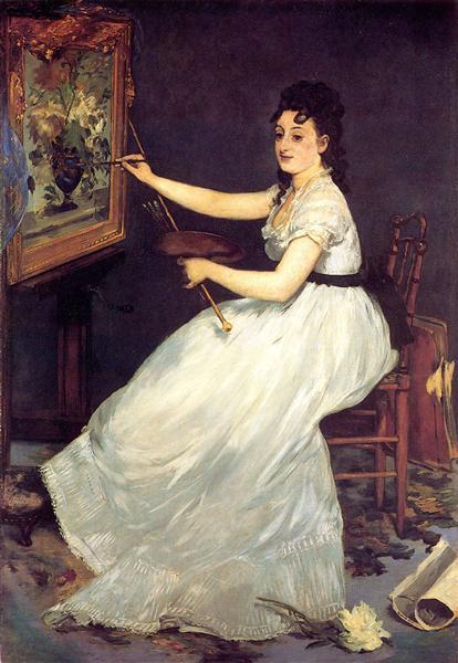 Portrait of Eva Gonzales, 1870 - Edouard Manet