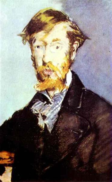 Portrait of George Moore, 1879 - Edouard Manet
