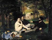 Il pranzo sull'erba - Edouard Manet