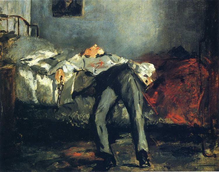 The Suicide, c.1880 - Edouard Manet