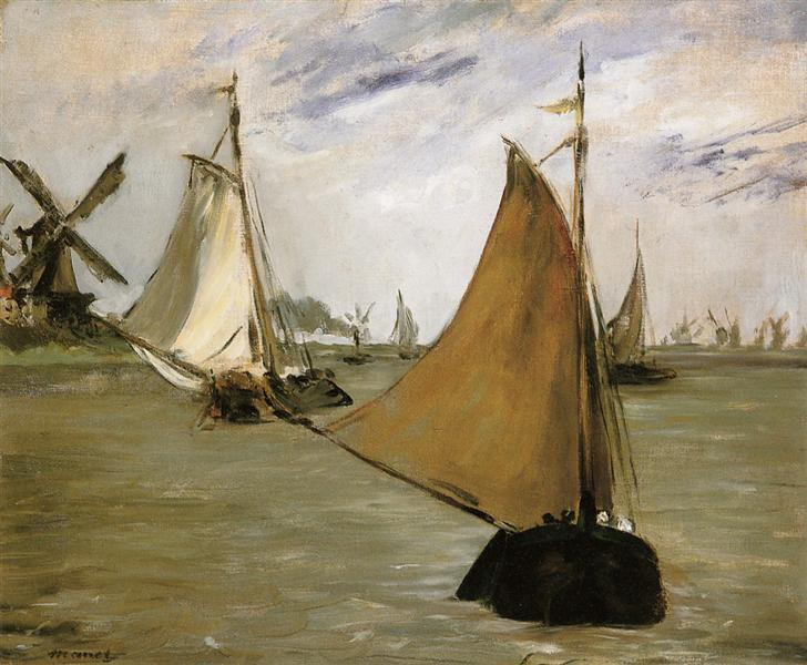 View of Holland, 1872 - Edouard Manet