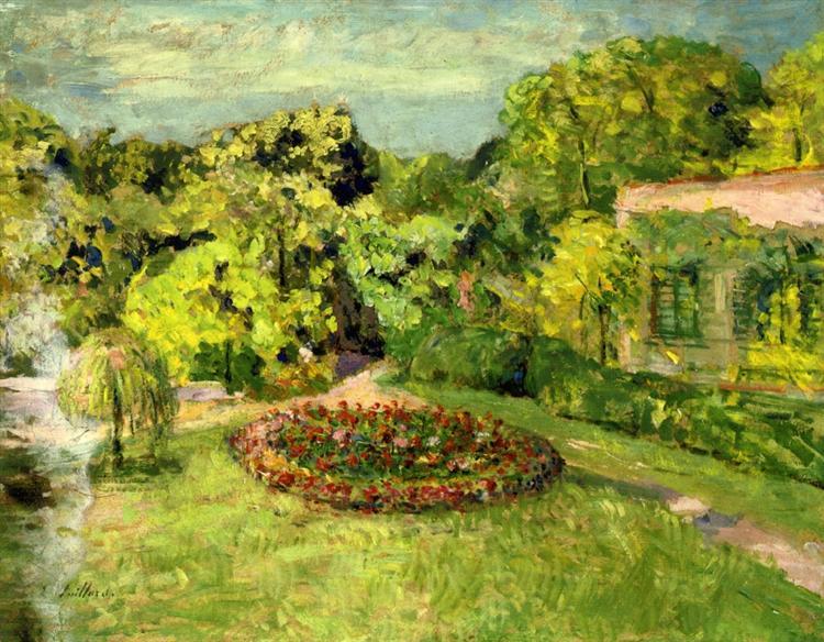 Massifnearthehouse, 1905 - 1907 - Edouard Vuillard