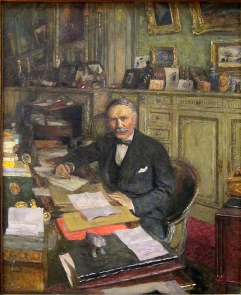 Portrait of Louis Loucheur - Edouard Vuillard
