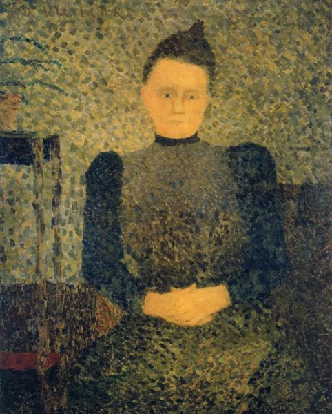 Portrait of Marie Vuillard, 1890 - Edouard Vuillard