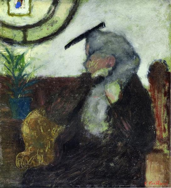 The Comb, 1898 - Edouard Vuillard