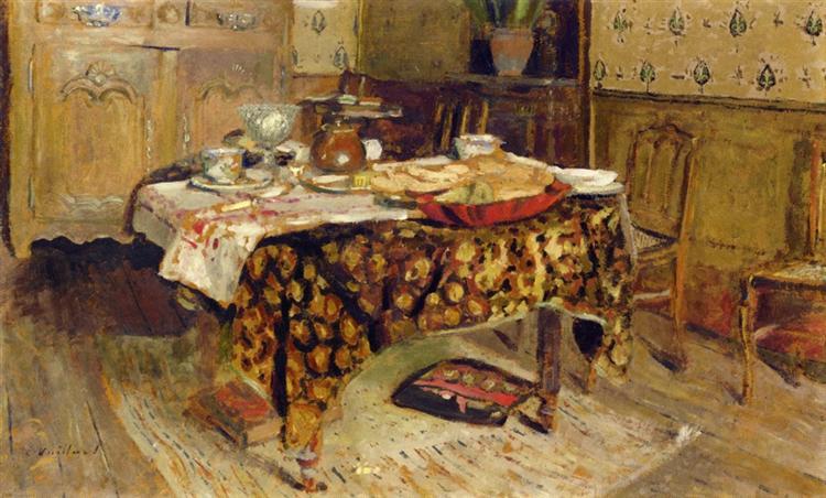 The Table Setting, 1903 - Edouard Vuillard