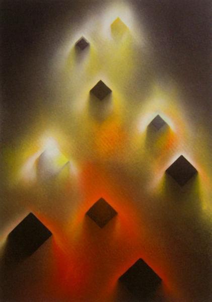 Desmaterialização - Ascensão, 1990 - Eduardo Nery