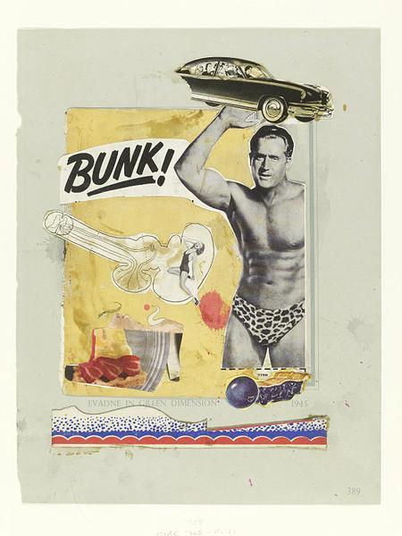 Bunk! Evadne in Green Dimension, 1952 - Eduardo Paolozzi