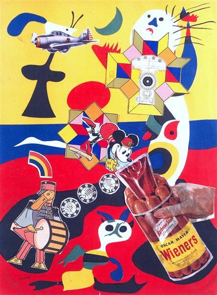 Sack-o-sauce, 1948 - Eduardo Paolozzi
