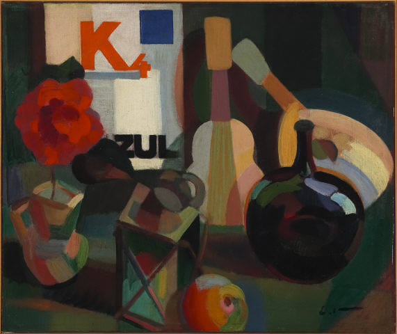 K4 Quadrado Azul, 1916 - Eduardo Viana