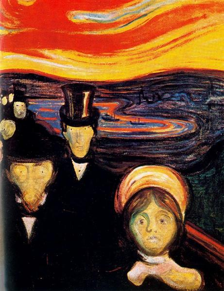 Anxiety - Edvard Munch