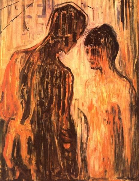 Cupid and Psyche, 1907 - Edvard Munch