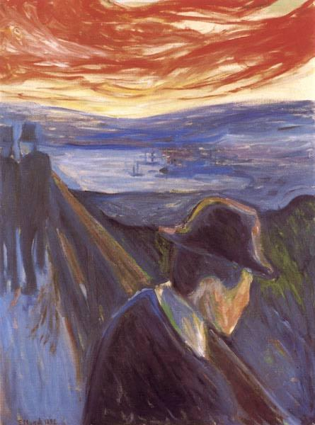 Despair, 1892 - Edvard Munch