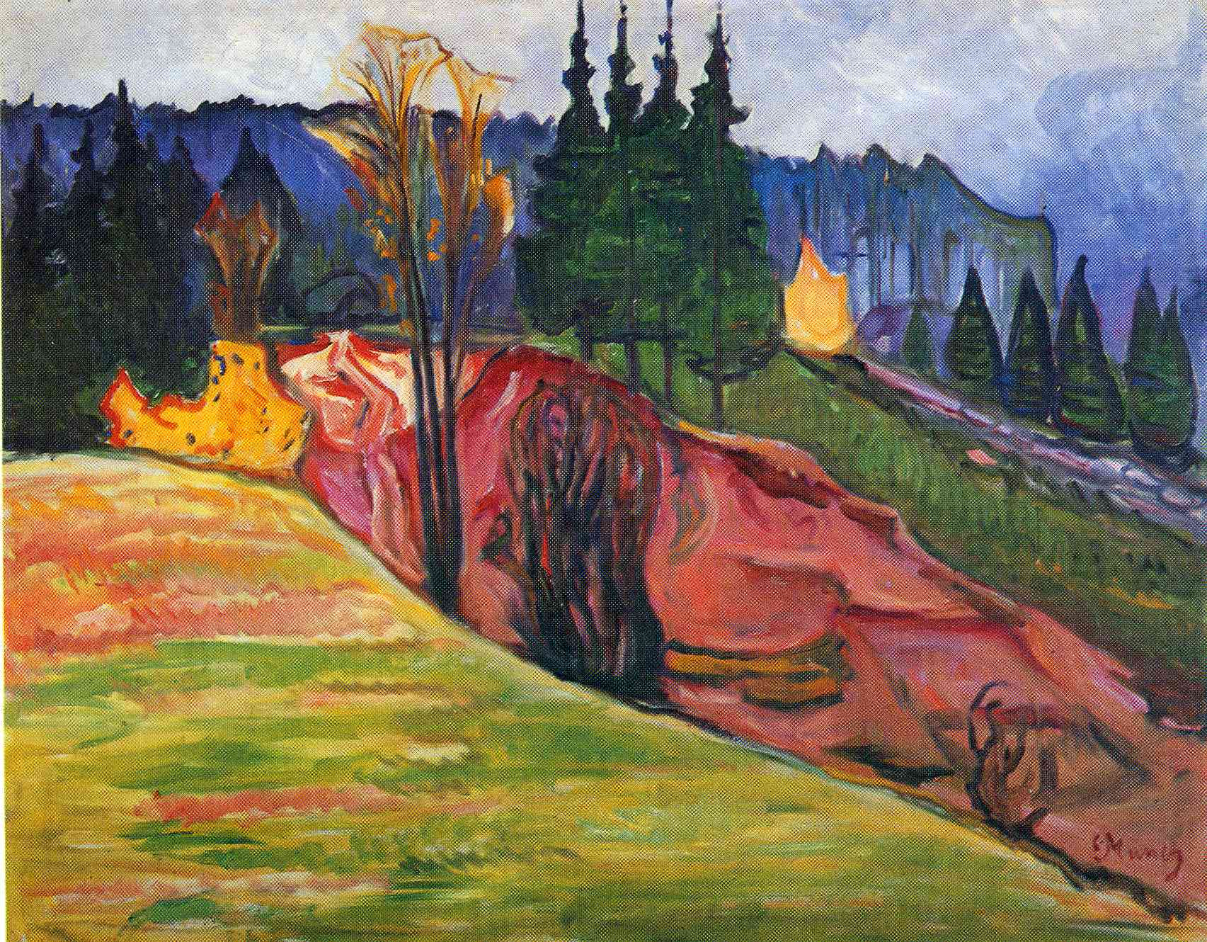 a biography of edward much an expressionist painter In 2012, edvard munch's painting the scream sold for more than $119   munch is widely known for his iconic pre-expressionist painting the.