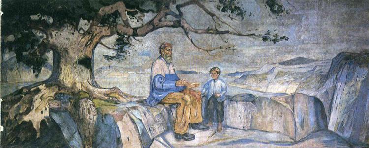 History, 1911 - 1916 - Edvard Munch