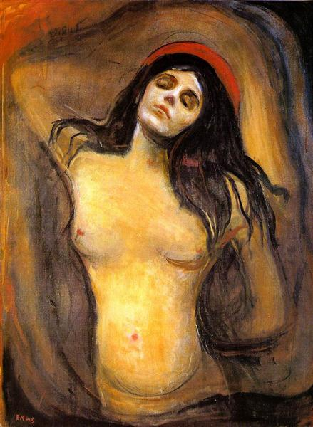 Madonna, 1894 - Edvard Munch