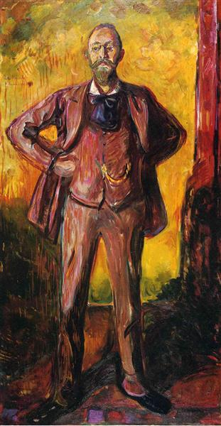 Professor Daniel Jacobson, 1909 - Edvard Munch