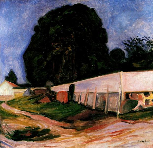Summer Night at Aasgaardstrand, 1904 - Edvard Munch