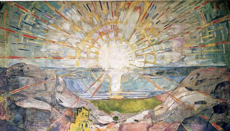 The Sun, 1911 - 1916 - Edvard Munch