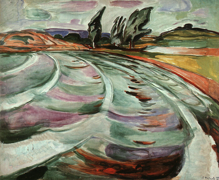 The Wave, 1921 - Edvard Munch