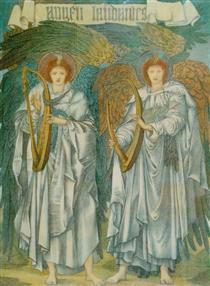 Angeli Laudantes - Edward Burne-Jones