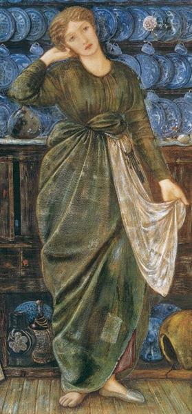 Cinderella, 1863 - Edward Burne-Jones
