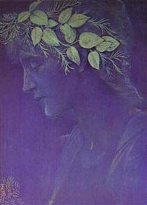 Girl's Head - Edward Burne-Jones