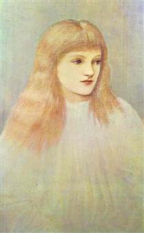 Portrait of Cecily Horner - Edward Burne-Jones
