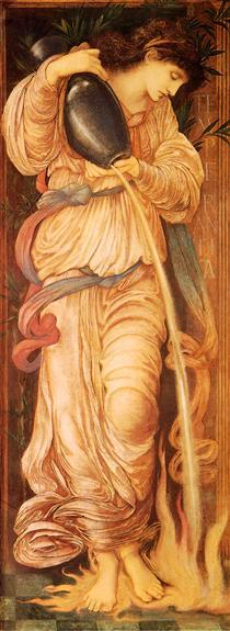 Temperantia - Edward Burne-Jones