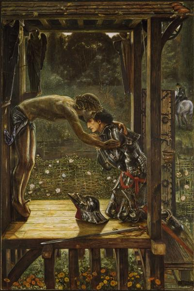 The Merciful Knight, 1863 - Edward Burne-Jones