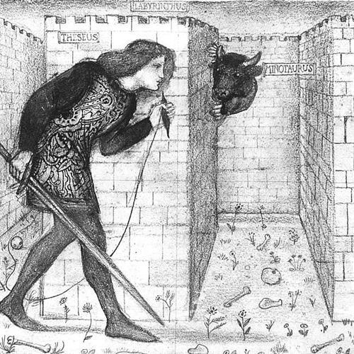 Theseus - Edward Burne-Jones
