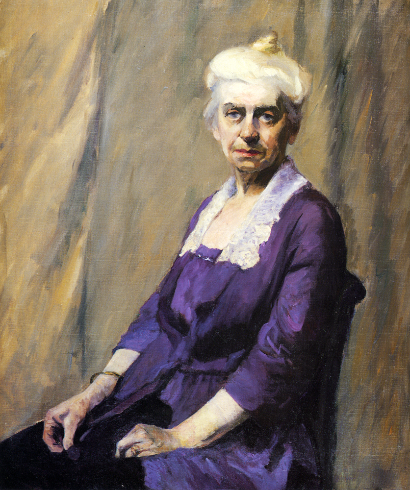 Elizabeth Griffiths Smith Hopper The Artists Mother 1915  1916