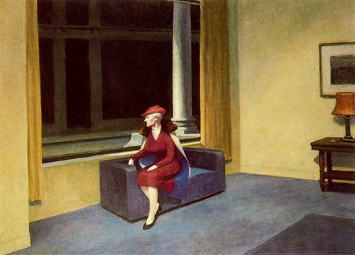 Hotel Window - Edward Hopper